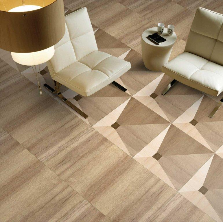 Floor vitrified tiles design